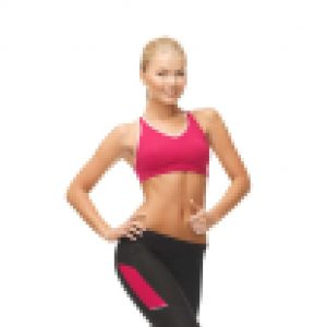picture of beautiful athletic woman in sportswear